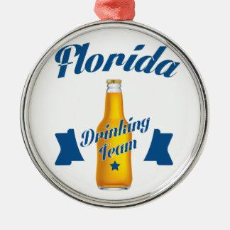 Florida Drinking team Metal Ornament