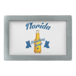 Florida Drinking team Rectangular Belt Buckles