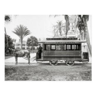 Florida East Coast Trolley, 1905 Postcard