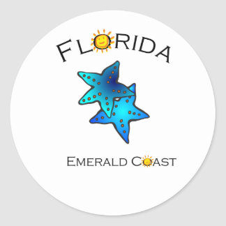 Florida Emerald Coast Sticker