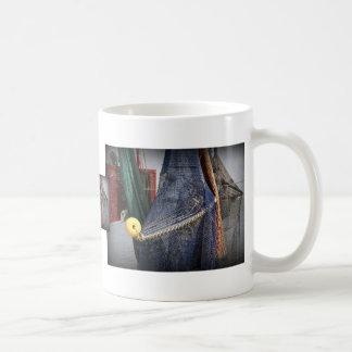 Florida fishing boat net closeup, faded version coffee mug