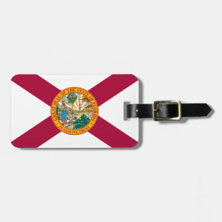 Florida Flag Luggage Tag