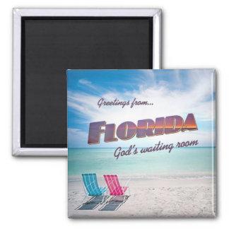 Florida funny fridge magnet