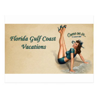 Florida Gulf Coast Postcard