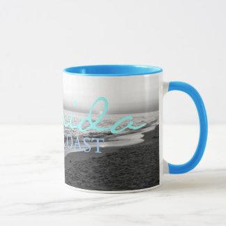 FLORIDA GULF COAST SUNSET Black / White Mug