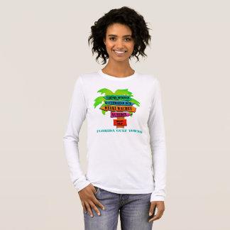 Florida Gulf Towns Long Sleeve T-Shirt