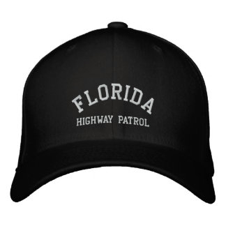 FLORIDA, HIGHWAY PATROL EMBROIDERED HAT