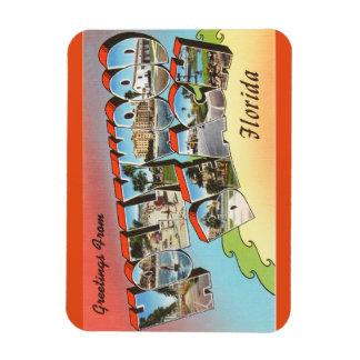 Florida, Hollywood Beach Magnet