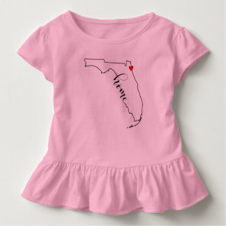 Florida Home Jacksonville Kid's Ruffle Shirt