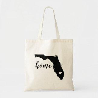 Florida Home State Tote Bag