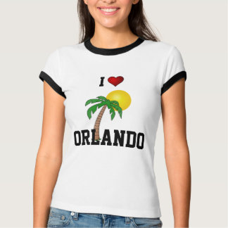 Florida: I Love Orlando,  palm trees and sunshine T-Shirt