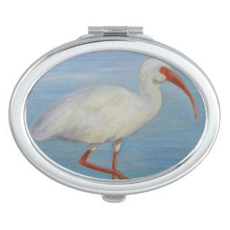 Florida Ibis Compact Mirror