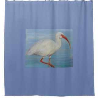 Florida Ibis Shower Curtain