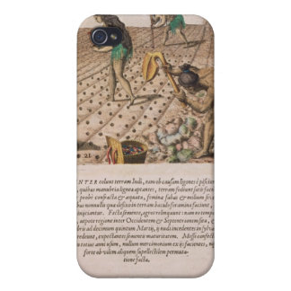 Florida Indians planting maize iPhone 4/4S Cases