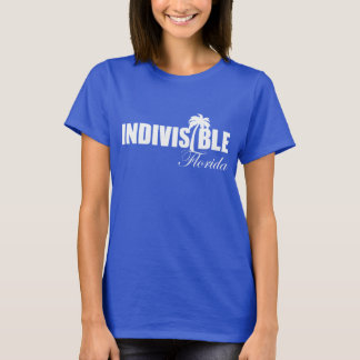 FLORIDA Indivisible women's t-shirt wht logo