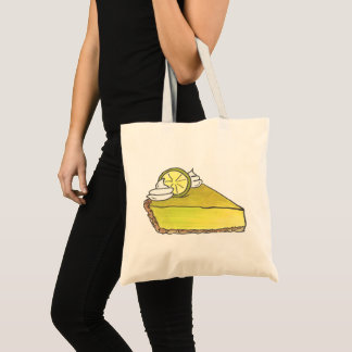 Florida Key Lime Pie Green Keylime Slice Dessert Tote Bag
