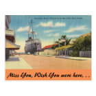 Florida, Key West, Duval St. Postcard