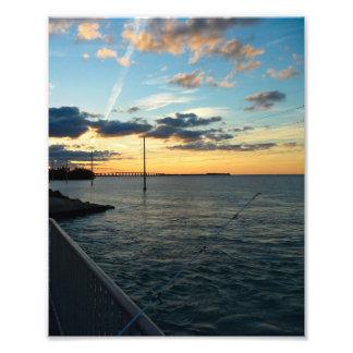 Florida Keys Fishing at Sundown 8x10 Photo Print