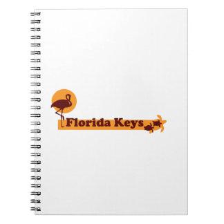 Florida Keys. Note Book