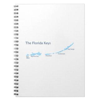 Florida Keys. Note Books