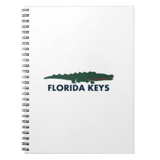 Florida Keys. Notebook