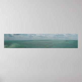 Florida Keys Panoramic 1 Poster