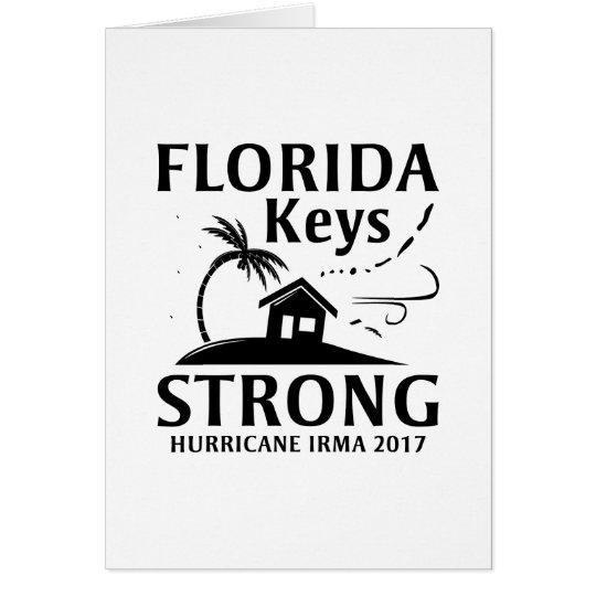 Florida Keys Strong Card