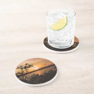 Florida Keys Sunset Beverage Coaster