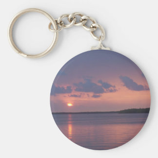 Florida Keys Sunset Keychain