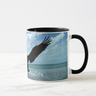 Florida Keys Wildlife Pelican Bird Coffee Mug Art