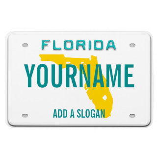 Florida License Plate (personalized) Magnet