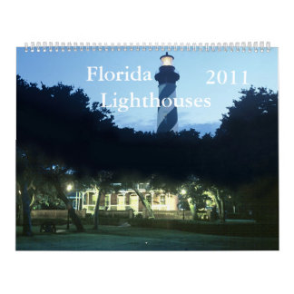 Florida Lighthouses 2011 Wall Calendars