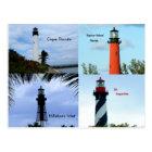 Florida Lighthouses Postcard