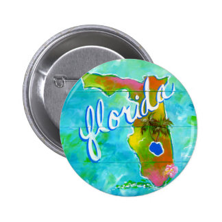 Florida Logo 2 Inch Round Button