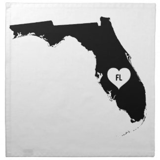 Florida Love Napkin