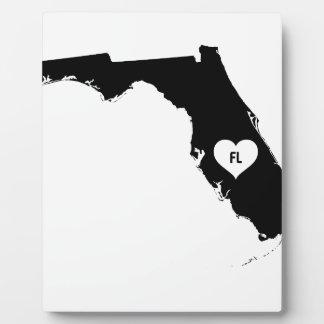 Florida Love Plaque