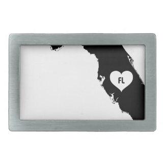 Florida Love Rectangular Belt Buckle