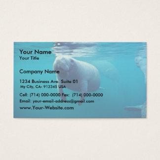 Florida Manatee Business Card