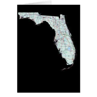 Florida Map Card