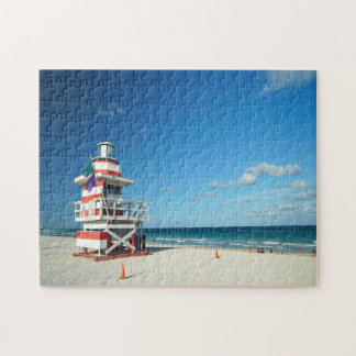 Florida Miami Beach. Jigsaw Puzzle