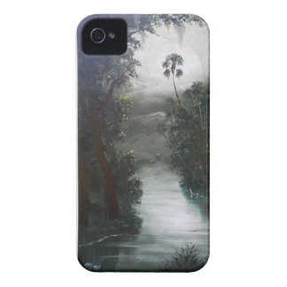 Florida Misty RIver Moss iPhone 4 Covers
