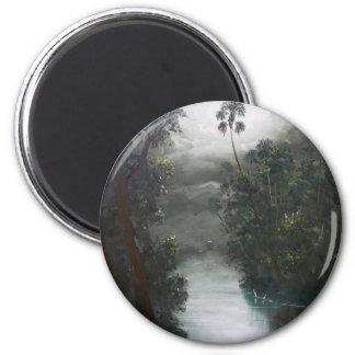 Florida Misty RIver Moss Magnet