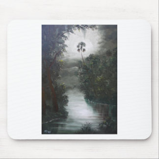 Florida Misty RIver Moss Mouse Pad