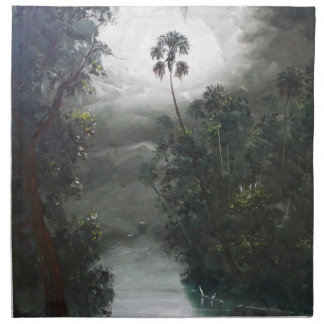 Florida Misty RIver Moss Napkin