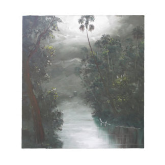 Florida Misty RIver Moss Notepad