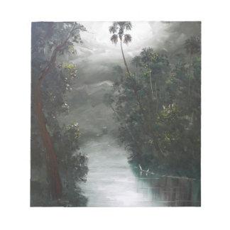 Florida Misty RIver Moss Notepads
