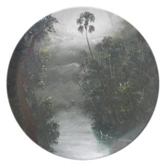 Florida Misty RIver Moss Plate