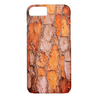 Florida Orange Puzzle Pine Tree Bark iPhone 8/7 Case
