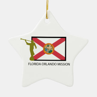 FLORIDA ORLANDO MISSION LDS CTR CERAMIC ORNAMENT