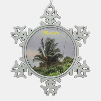 Florida Palm Tree Christmas Ornament
